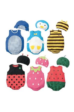 תחפושות לתינוקות, תחפושת תות, strawberry costume