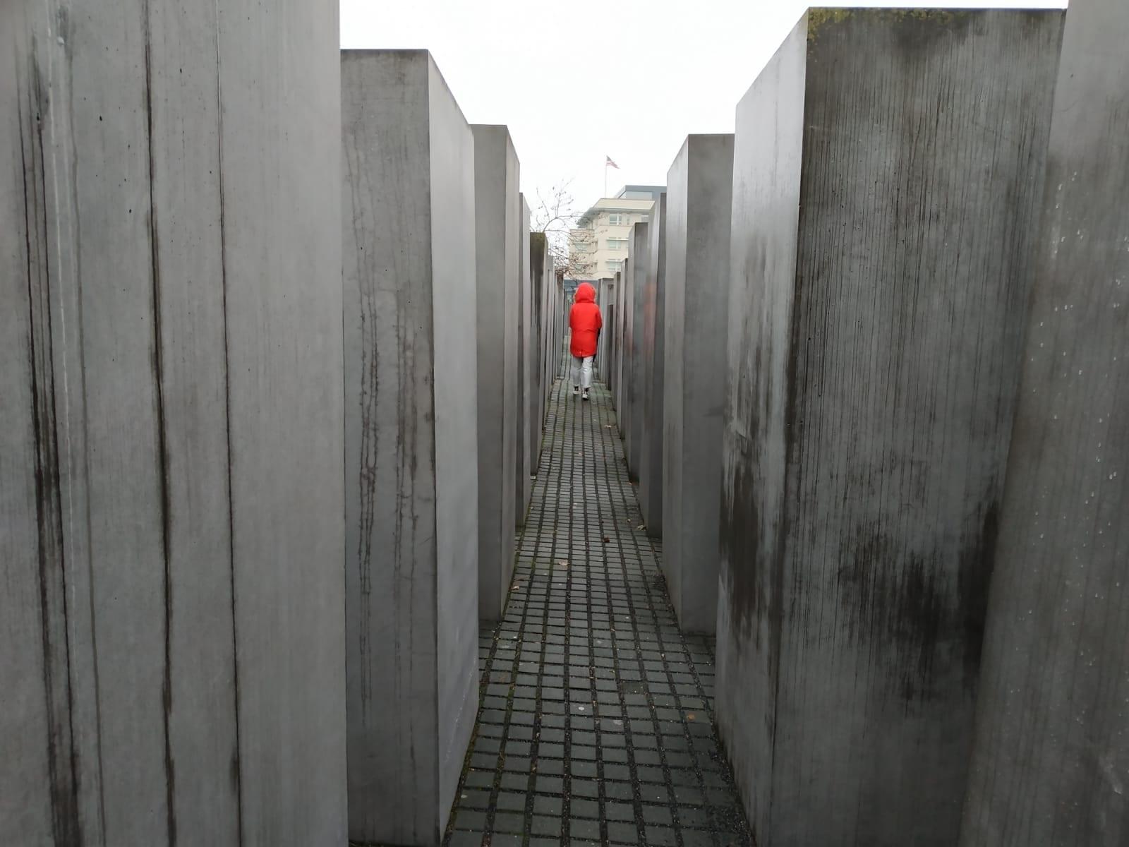 מה עושים בברלין, אנה ברודי, בלוג אופנה,'אנדרטת השואה