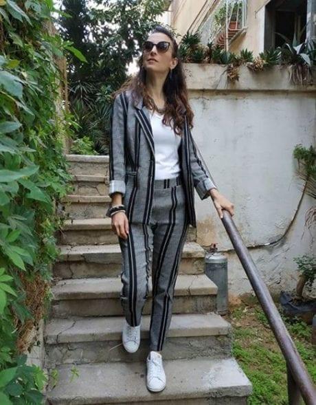 חליפת פסים של לילך אלגרבלי
