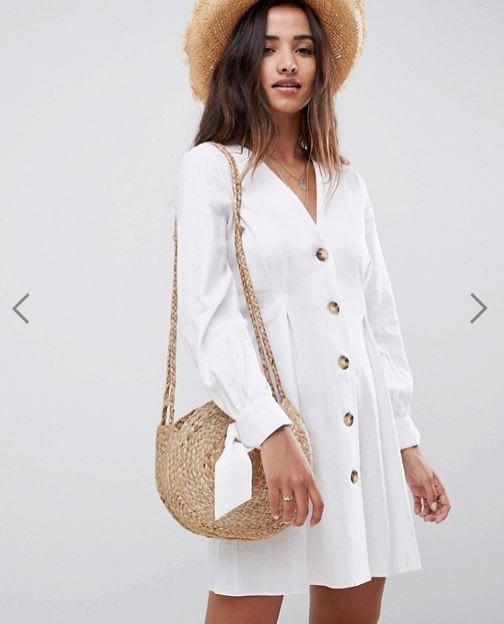 שמלה לבנה אסוס