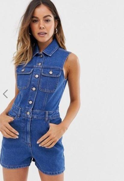 אסוס: אוברול ג'ינס קצר